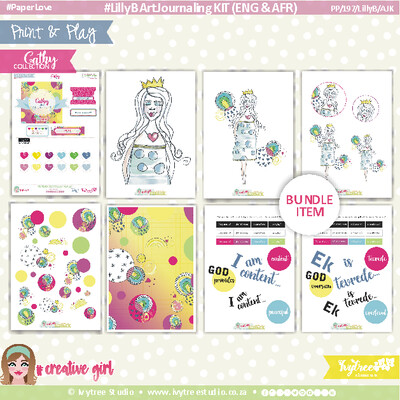 #PP/197/LILLYB/AJK - #Print&Play LillyB Art Journaling Kit - CATHY COLLECTION