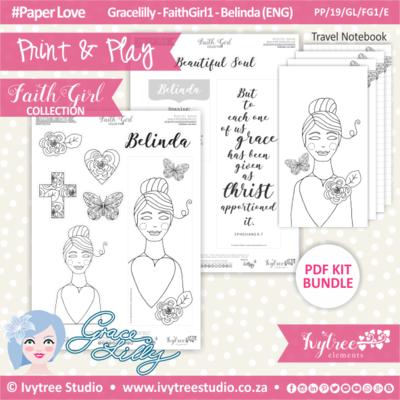 PP 19 GL FG1 KIT - Print&Play - #FaithGirl KIT - Belinda