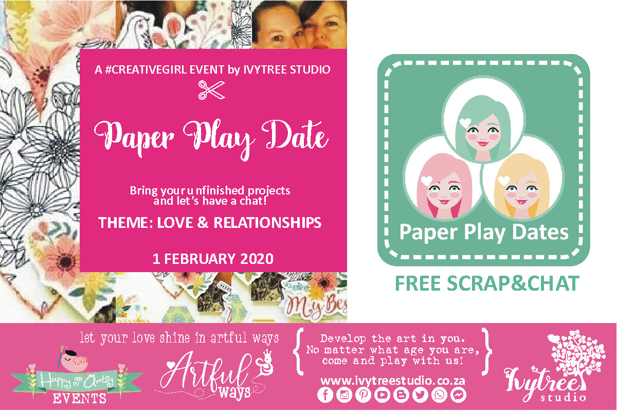 """Scrap'nChat"" Paper Play Dates 2020"
