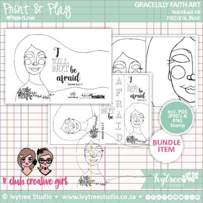 Gracelilly Faith Art Kit - Not Afraid