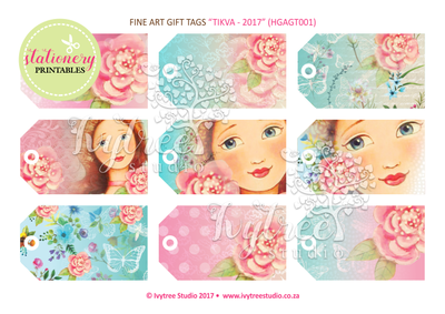 Tikva Printable Gift Tags