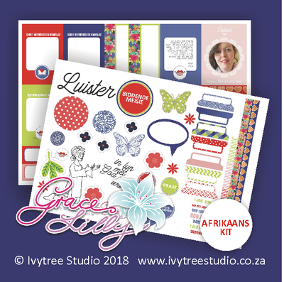 1 John 5:14 - Listening Print and Play PDF - Afrikaans kit