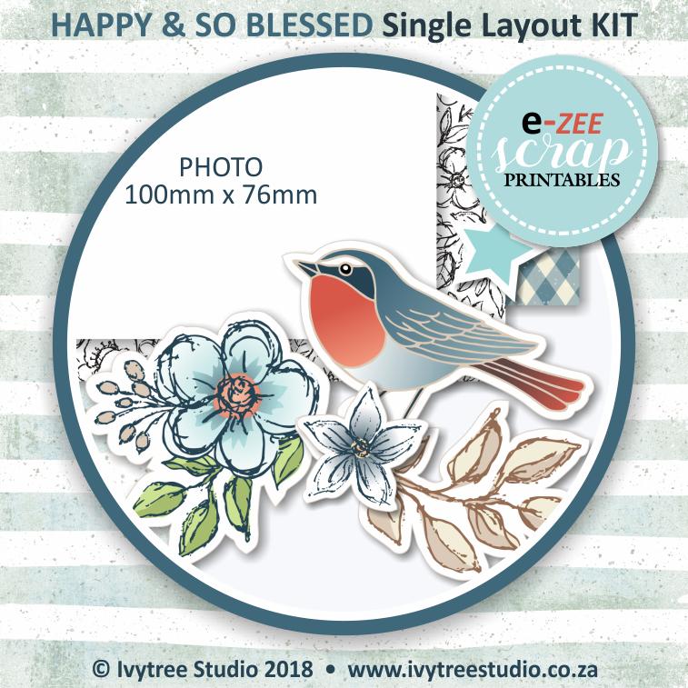 Single Layout KIT (Printable PDF) - ENG & AFR