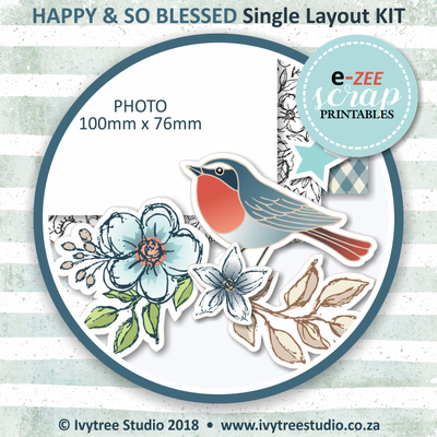 Single Layout KIT (Printable PDF) - ENG & AFR