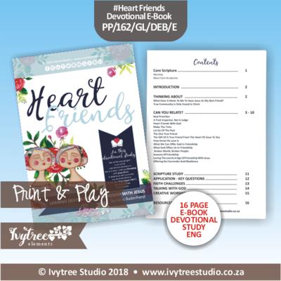 PP/162/GL/HF/DEV - Print&Play GraceLilly Devotional - Heart Friends