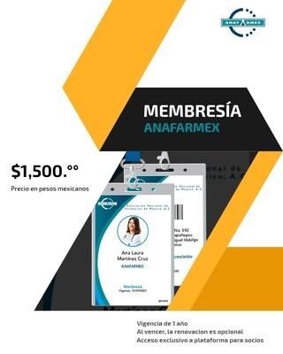 Membresía ANAFARMEX