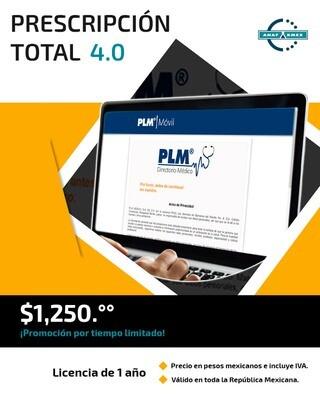 PLM ONLINE. Prescripción Total 4.0