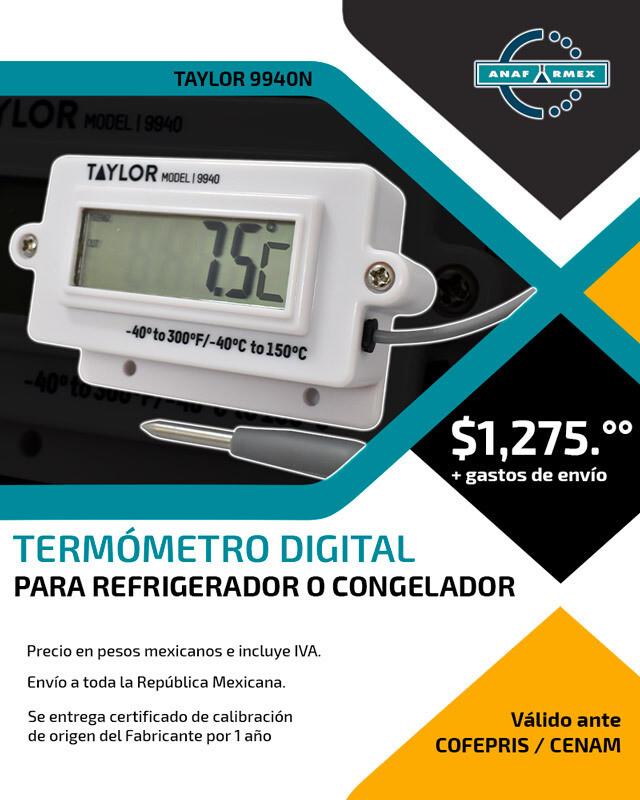 Termómetro Digital para Refrigerador o Congelador