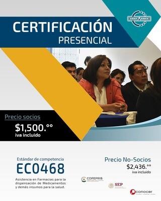 Certificación Presencial (PRECIO NO SOCIOS)