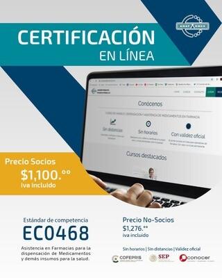 Certificación en Línea (PRECIO NO SOCIOS)