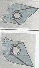 Faltmechanismus-Ohren schwarz