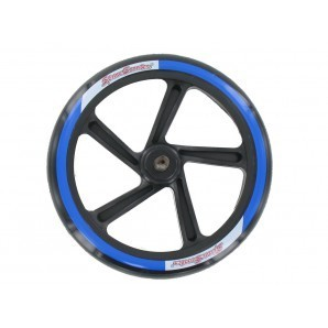 Ersatz Hinterrad mit Achse 580 blau