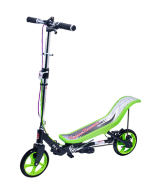 SpaceScooter Deluxe X590 grün