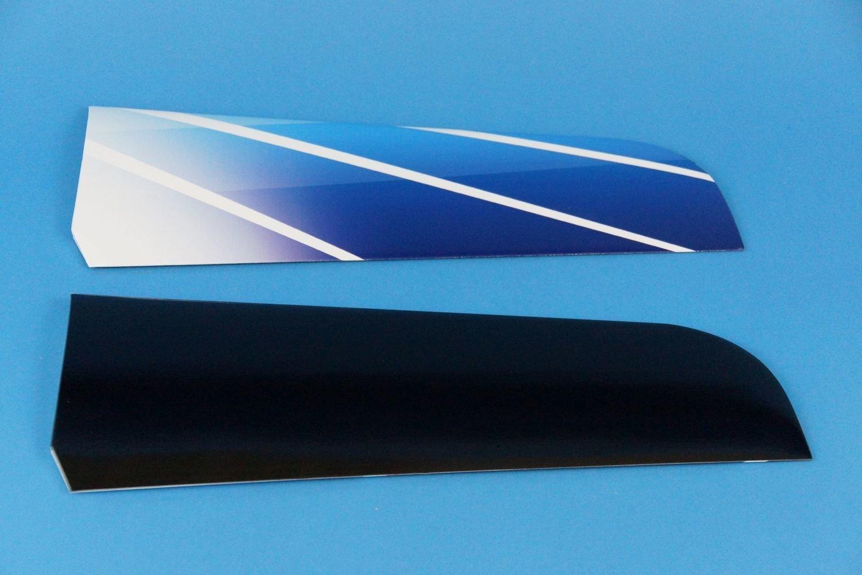Höhenleitwerk Alpina 4001 Elektro Design Blue Curacao