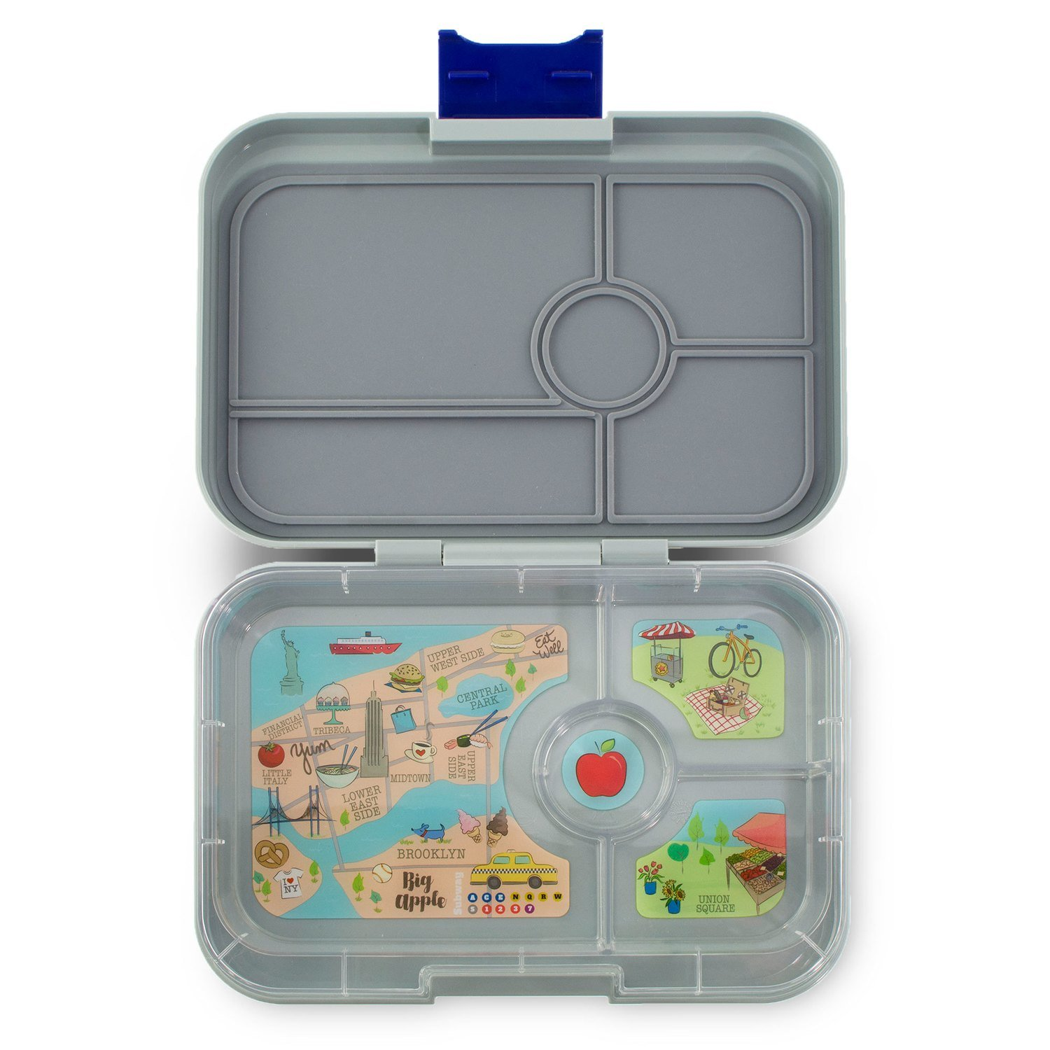 Iron Flat Gray - 4 Compartments