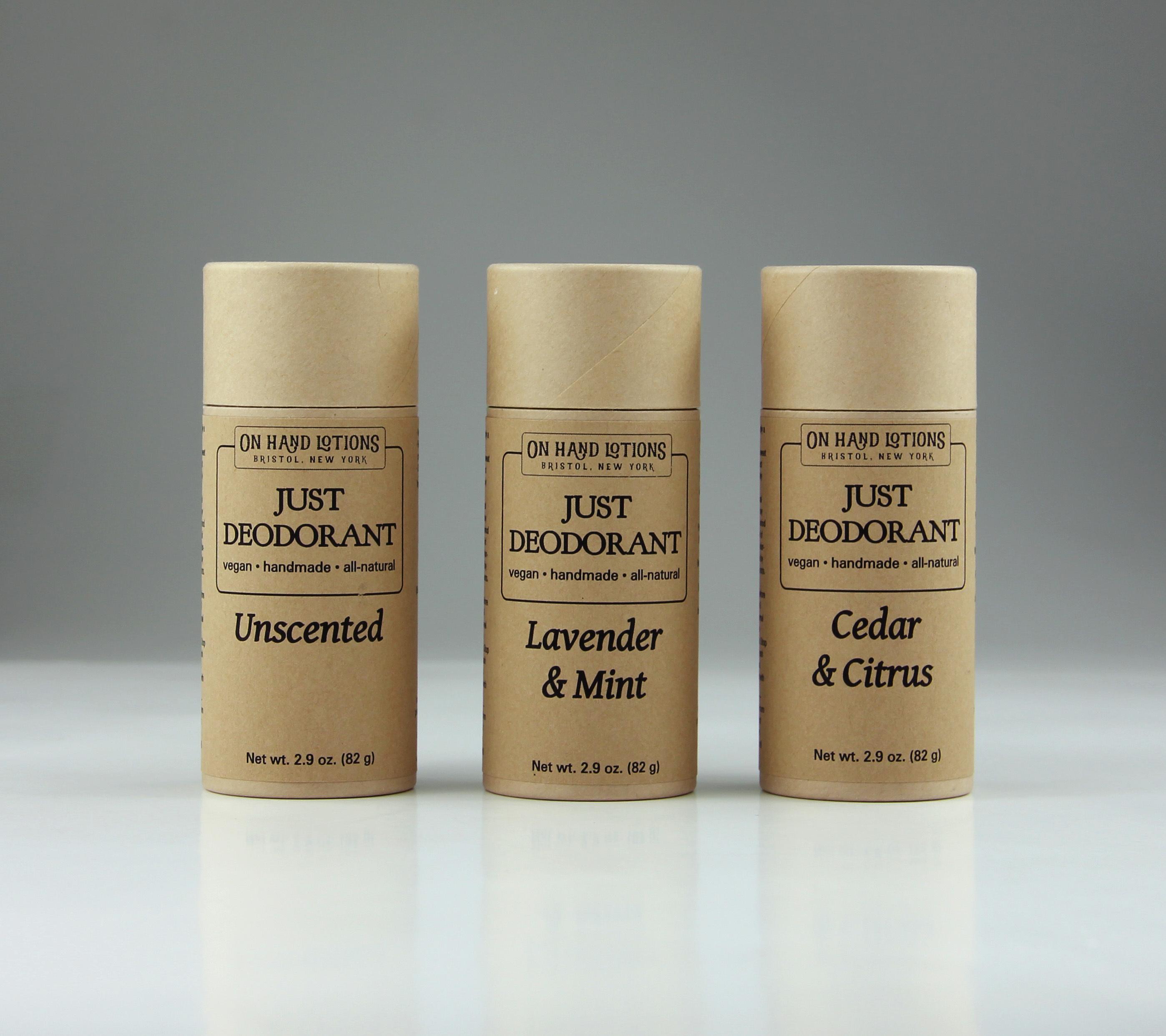 """""""Just Deodorant"""" Vegan Deodorant Stick 00801"""