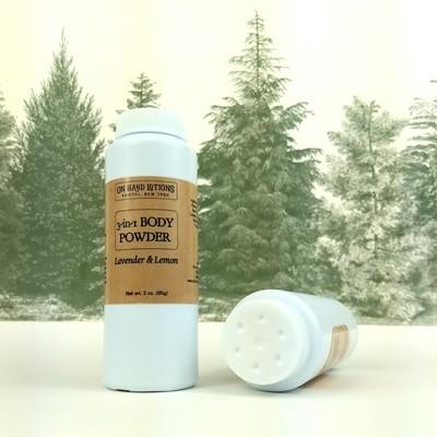 Lavender & Lemon 3-in-1 Body Powder & Dry Shampoo - 4 PACK - WHOLESALE
