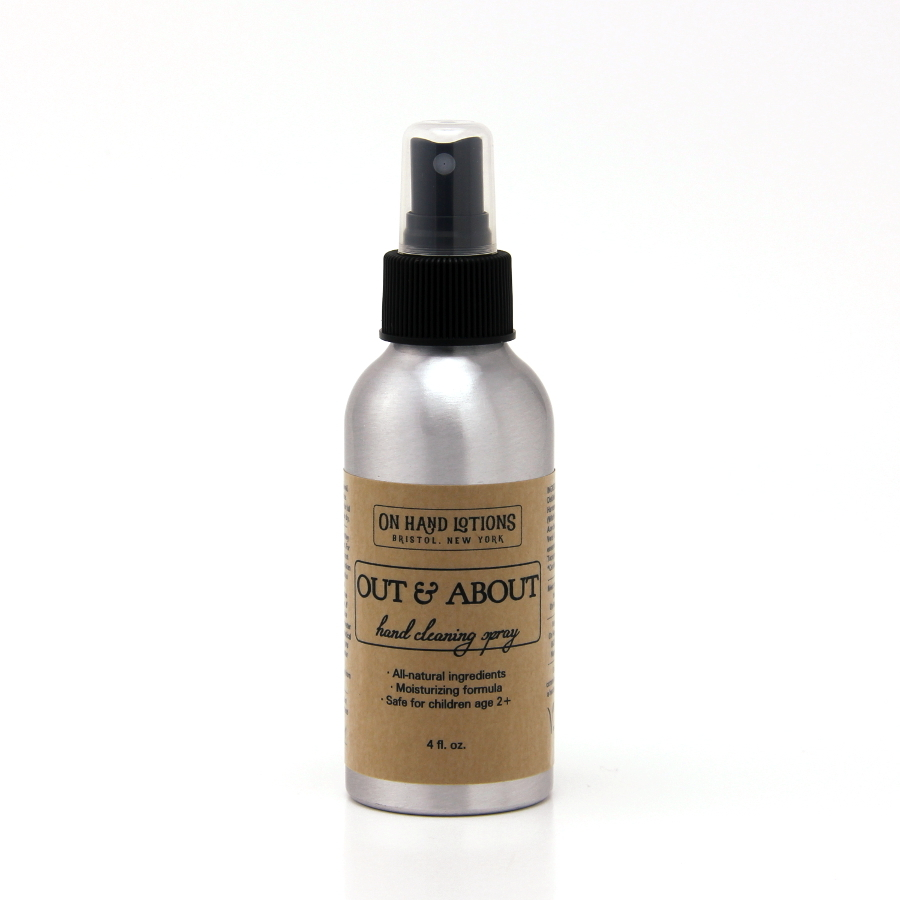 Out & About Kid-Safe Hand Cleaning Spray 00021
