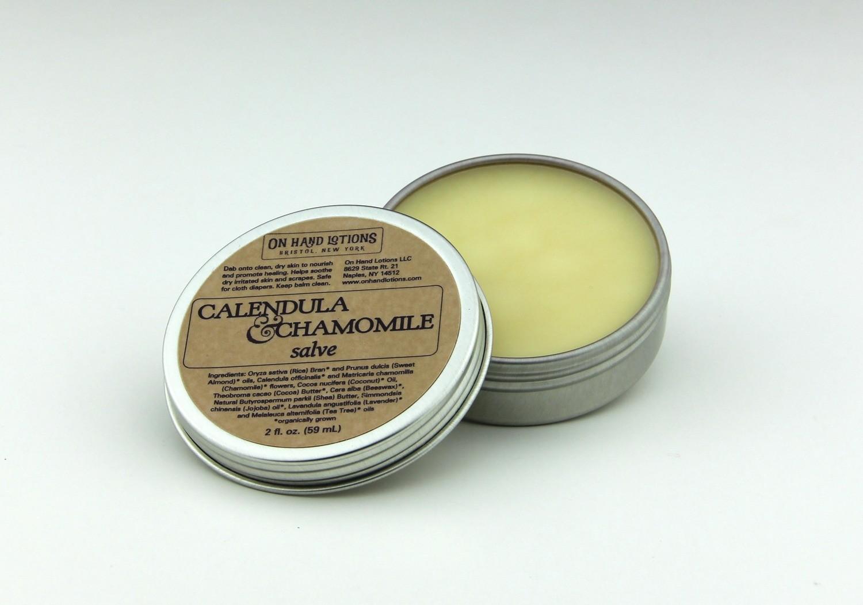 Calendula & Chamomile Salve - 2 oz or 4 oz - Wholesale
