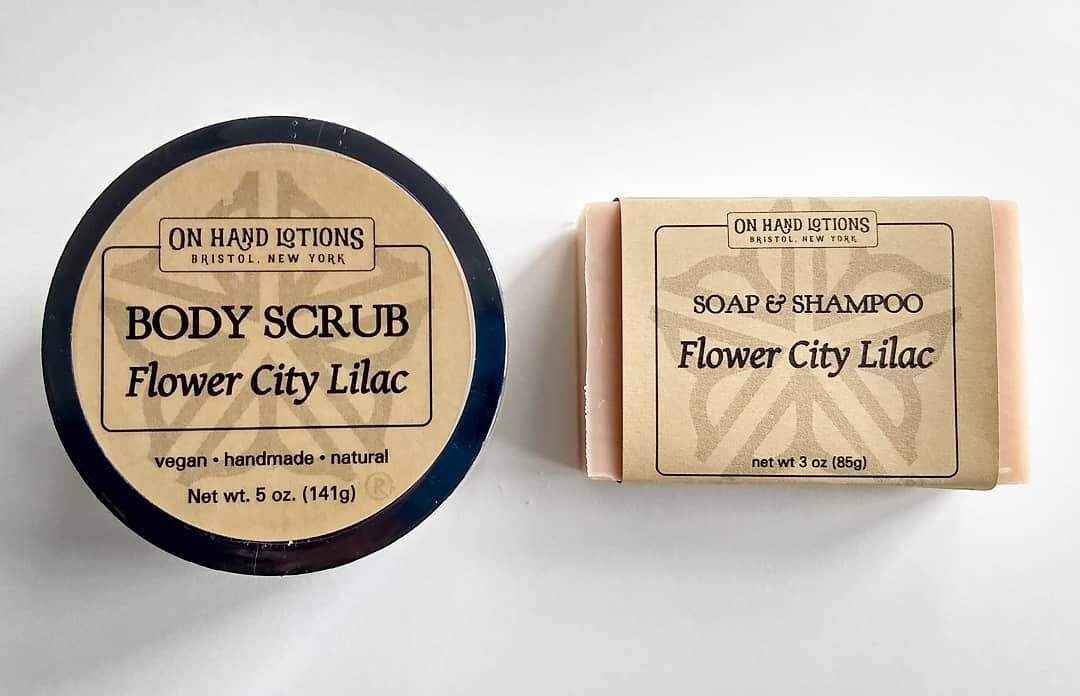 Flower City Lilac Body Scrub 01981