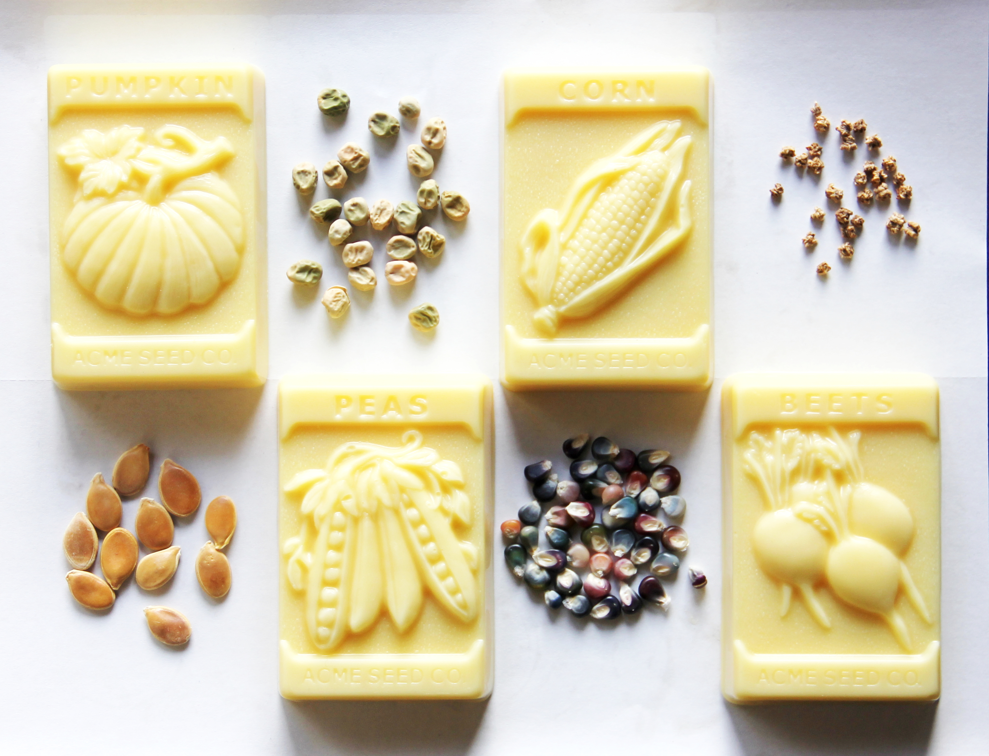 """""""From The Garden"""" Seed Packet Lotion Bar 00261"""