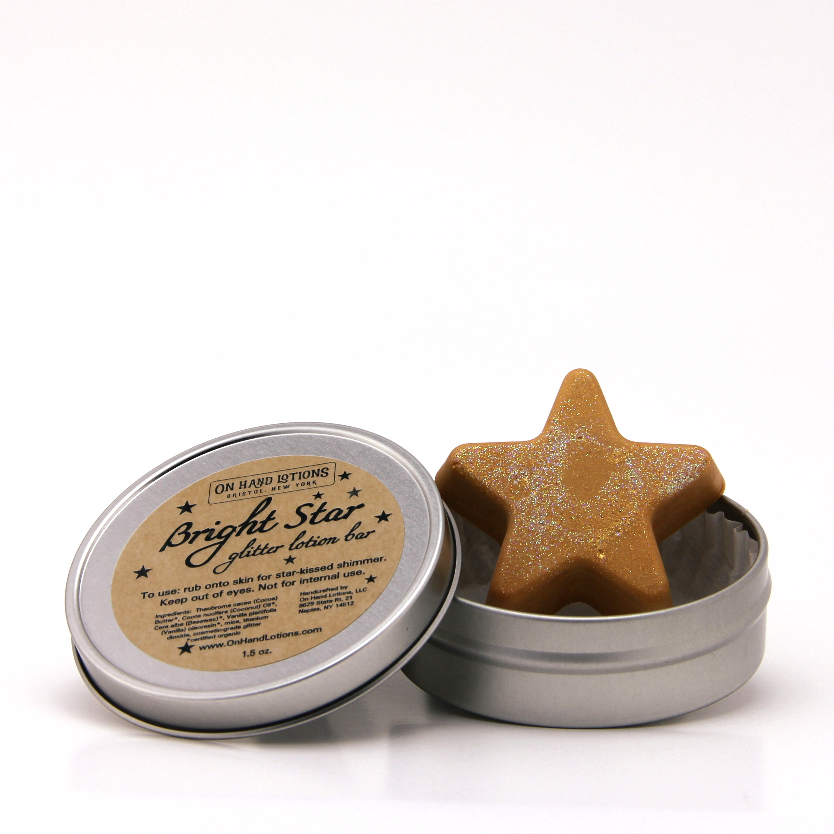 Bright Star Glitter Lotion Bar 00231