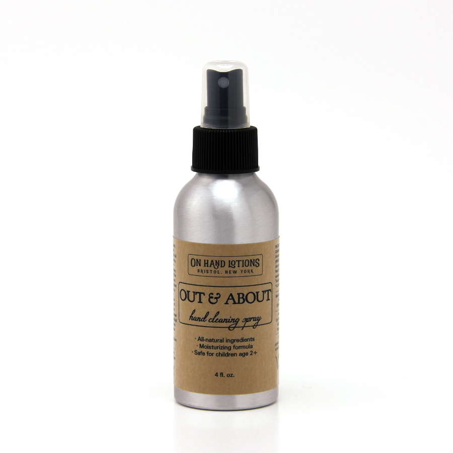 Out & About Kid-Safe Hand Cleaning Spray 4 oz. - 4 pack - Wholesale