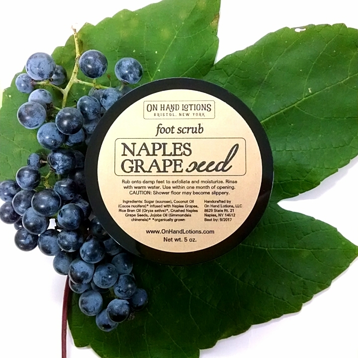 Naples Grapeseed Foot & Hand Scrub - Seasonal Scrub 01941