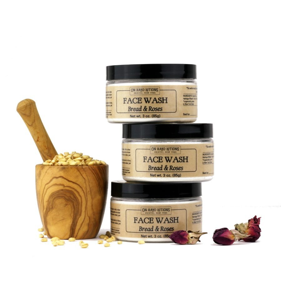 Bread & Roses Face Wash & Mask