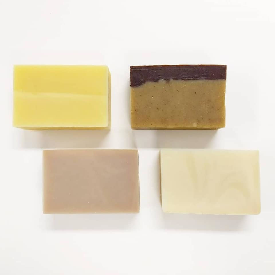 Fall/Winter '18 Soap & Shampoo Bars: Basil & Citrus, Lemon Tart, Pumpkin Chocolate Chip, Sweet Mint