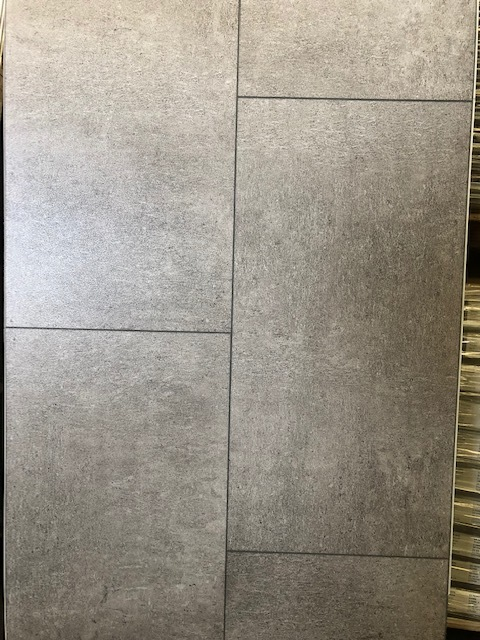 Luxury Vinyl Plank Tiles - Painted Concrete 500106