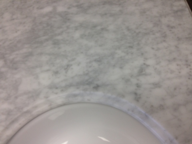 "Cararra White Granite 31"" vanity top 750219"