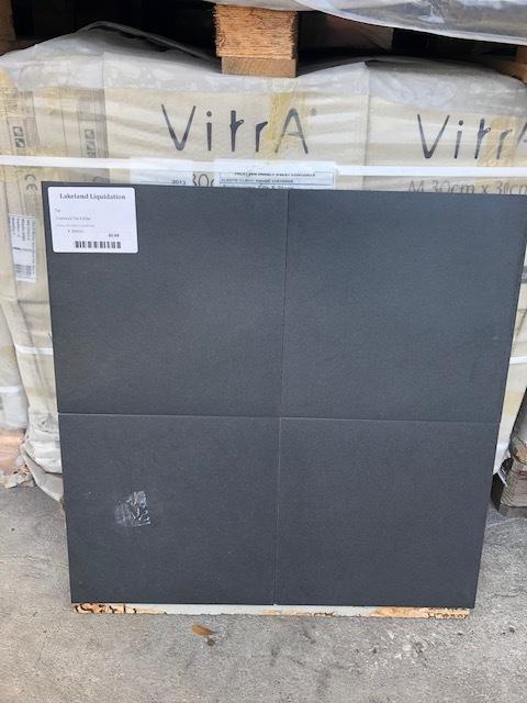 12x12 Black Tile 00032