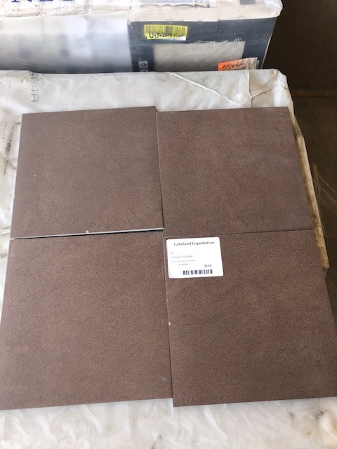 12x12 Brown Tile 00034