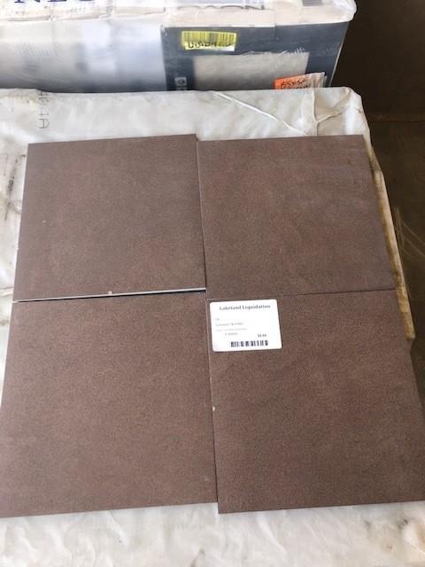 12x12 Brown Tile