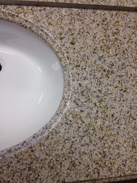 "Golden Peach (Sand) Granite Top 31"" 00016"