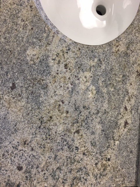 "Kashmir White Granite 37"" vanity top 750259"