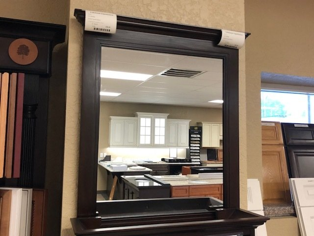 Framed mirror 42x30 - ON SALE 750225