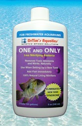 One & Only Nitrifying Bacteria for Freshwater Aquaria, 2 oz.