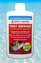 First Defense Fish Stress Relief for Freshwater Aquaria, 2 oz.