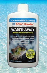 Waste-Away Sludge Busting Bacteria for Freshwater Aquaria, 2 oz.