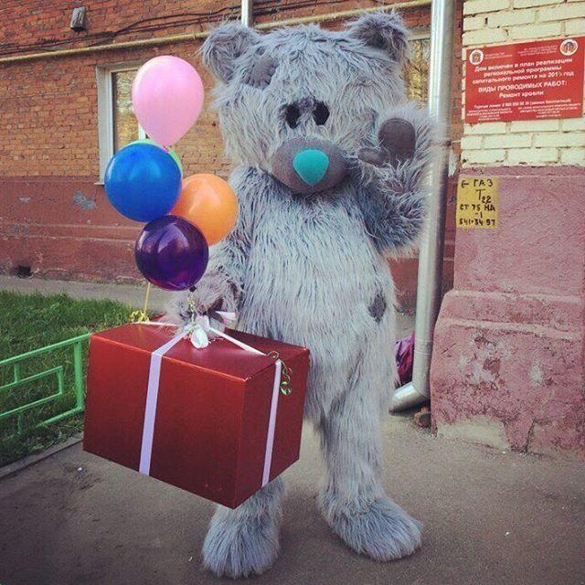 Классический мишка Тедди