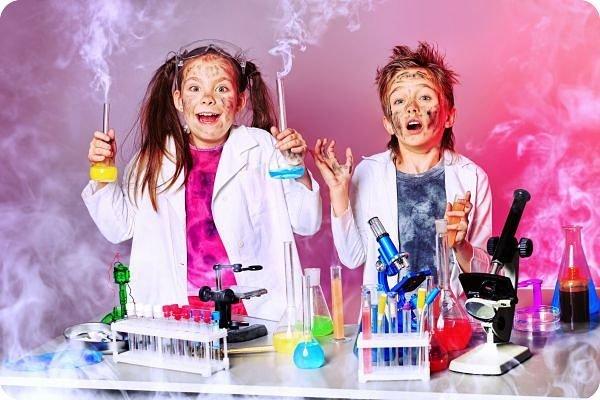 Химическое шоу премиального уровня
