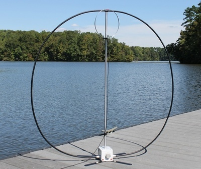 W4OP Loop Antenna (Manual Tuning)