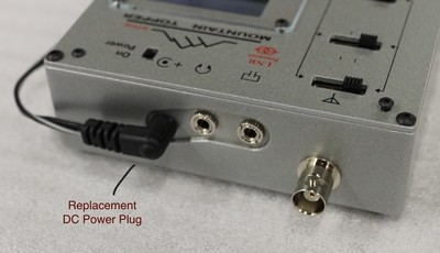 Replacement DC power plugs for MTR4B