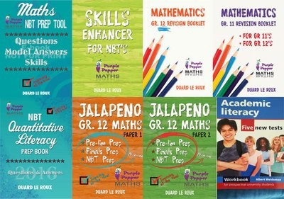 Math Package - 8 Books