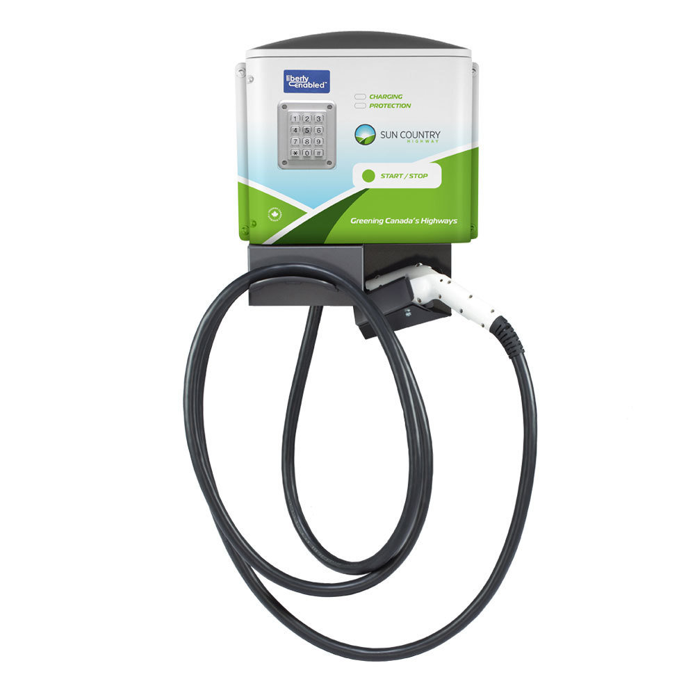 SCH60 EV Charger with Liberty Key Pad SCH60-LPI