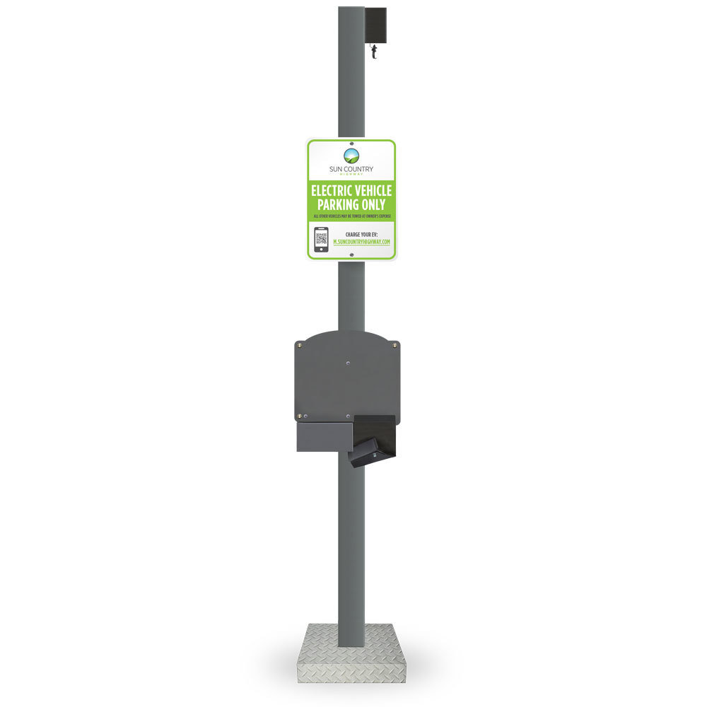 Single Mount Retractable Pedestal System SGLRETPED