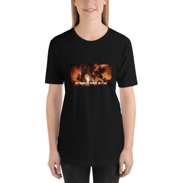 """My Name is Heart on Fire"" Short-Sleeve Unisex T-Shirt"