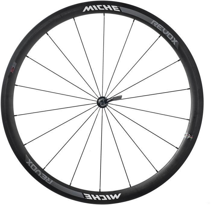 Coppia ruote Miche REVOX RC carbon 38-38